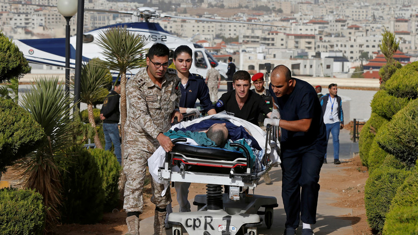 México confirma que tres de sus ciudadanos fueron heridos en el ataque en Jordania, uno de gravedad