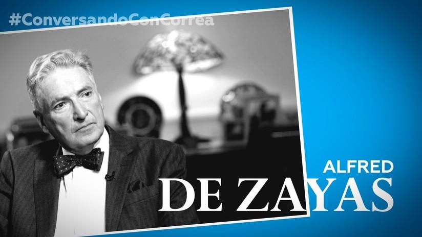 """De Zayas a Correa: """"Existe una industria de los derechos humanos que pretende proteger el 'statu quo'"""""""