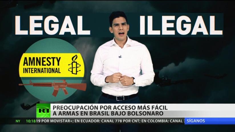 Brasil: Crece la preocupación por un acceso a armas más fácil durante la presidencia de Bolsonaro