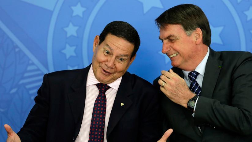 Gobierno de Brasil anticipa que no enviará a su vicepresidente a la asunción de Alberto Fernández