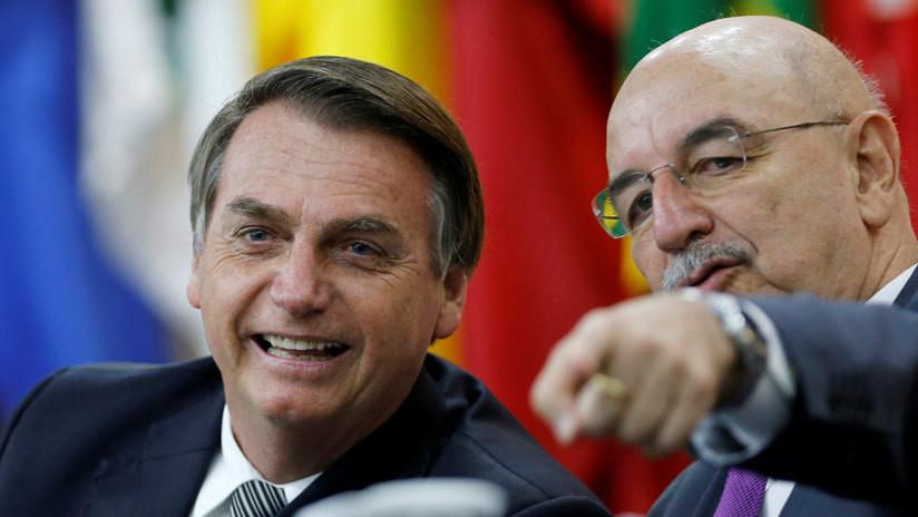 Bolsonaro enviará al ministro de la Ciudadanía a la toma de posesión de Alberto Fernández