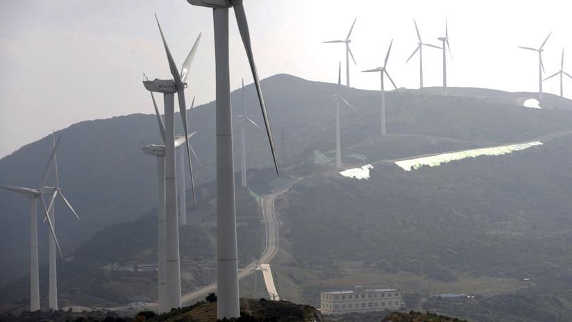 VIDEO: China desarrolla un gigantesco generador de energía eólica