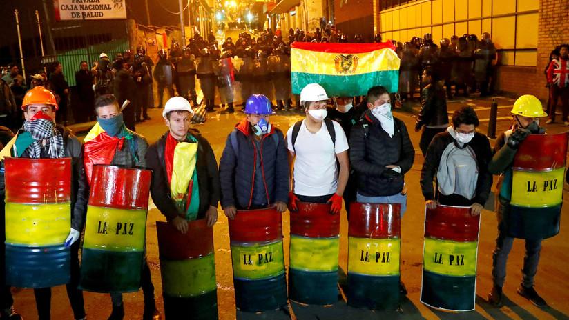 """Ministro de Defensa boliviano: """"Estamos a un paso de contar a los muertos por docenas"""""""