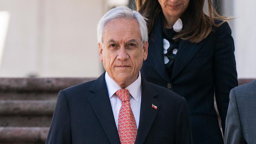Piñera anuncia un proyecto de ley 'antisaqueos' y 'antiencapuchados'