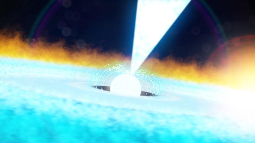 VIDEO: Un telescopio de la NASA capta un estallido excepcional de rayos X tras una explosión termonuclear a miles de años luz