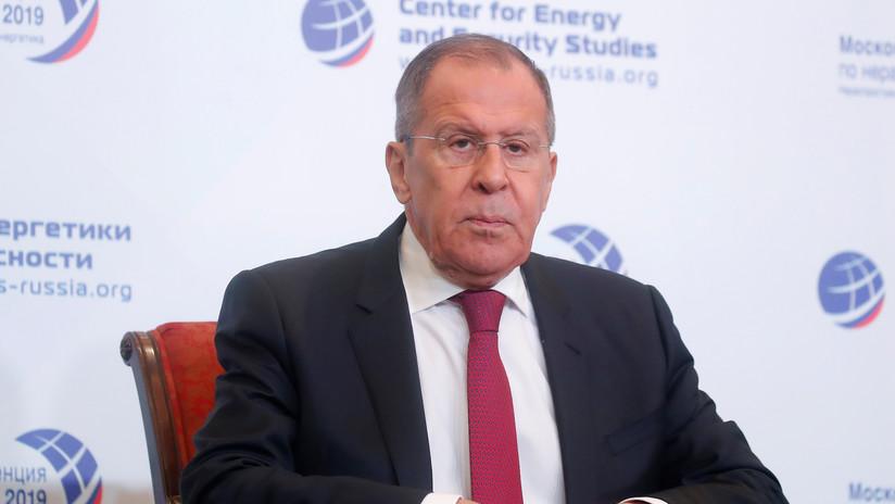 """Lavrov tras las declaraciones de Macron sobre la """"muerte cerebral"""" de la OTAN: """"Una vez se recupere, estamos listos para mejorar relaciones"""""""