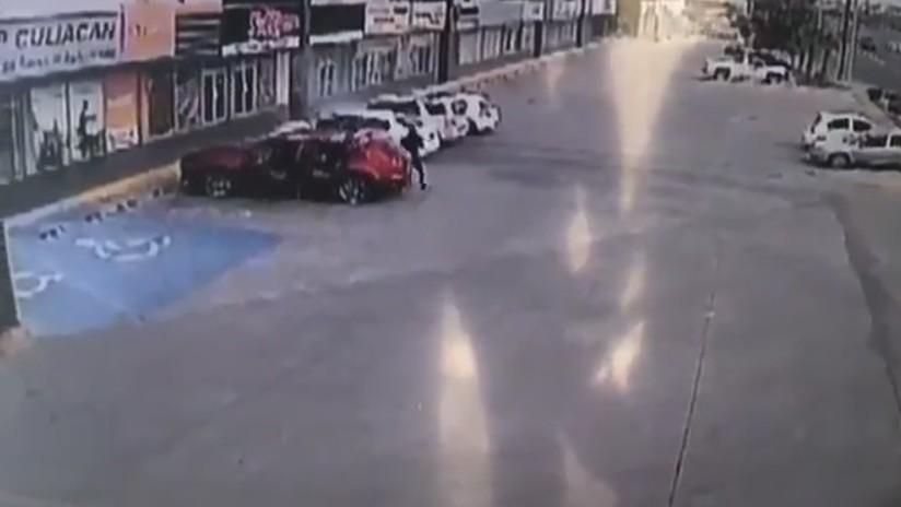 VIDEO: Acribillan con más de 150 disparos a un agente de la Policía de Sinaloa