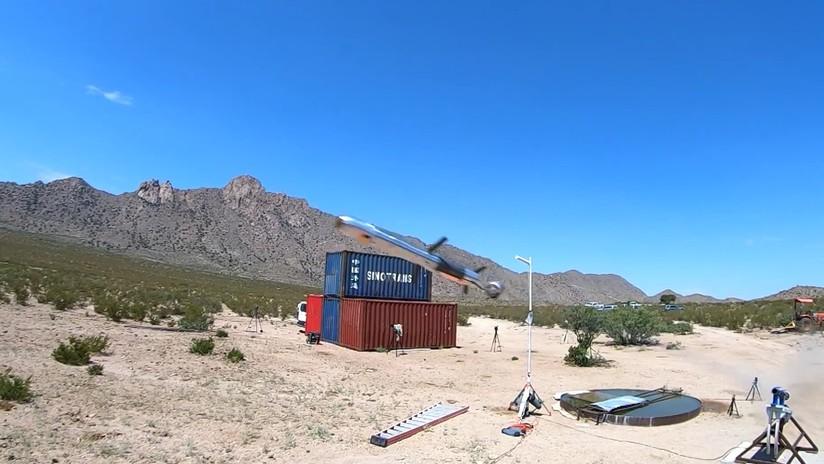 VIDEO: Prueban un proyectil guiado por láser capaz de alcanzar objetivos a distancias de hasta 2.000 metros