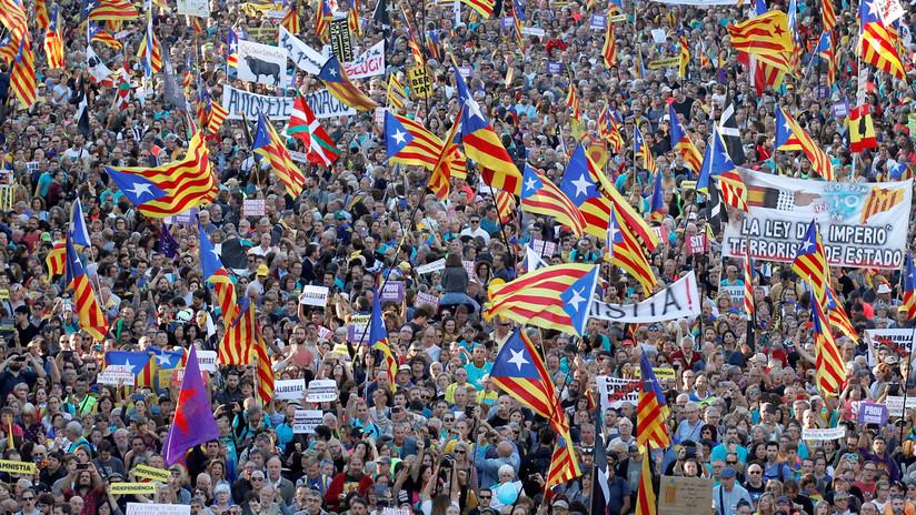"""Tsunami Democràtic convoca a un """"11-S de tres días"""" tras las elecciones en España para su acción más """"ambiciosa"""""""