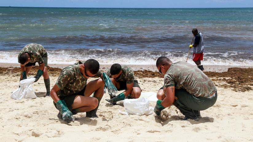 Vertido de petróleo en Brasil, ¿cuál es el peligro de militarizar las emergencias?