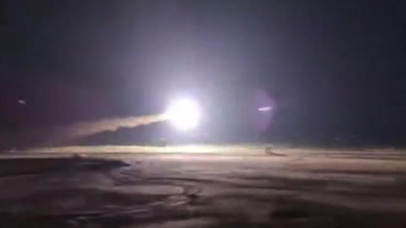VIDEO: Momento exacto del derribo por parte del Ejército iraní de un dron extranjero en el puerto de Mahshahr
