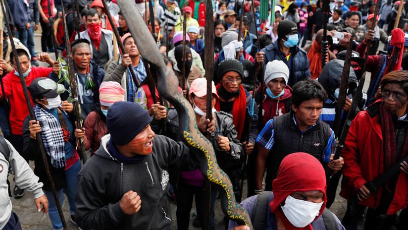 Indígenas de Ecuador advierten con retomar movilizaciones si el Gobierno desestima su propuesta económica