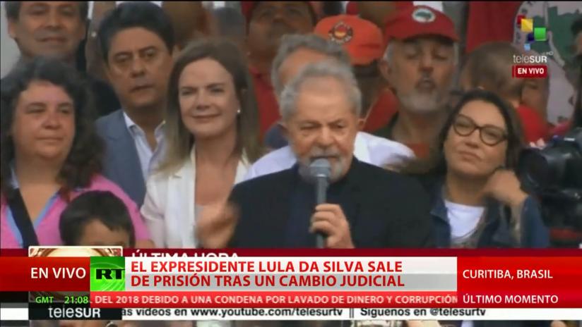 """Periodista brasileño: """"Gobierno de Bolsonaro no sabe cómo reaccionar ante la puesta en libertad de Lula"""""""