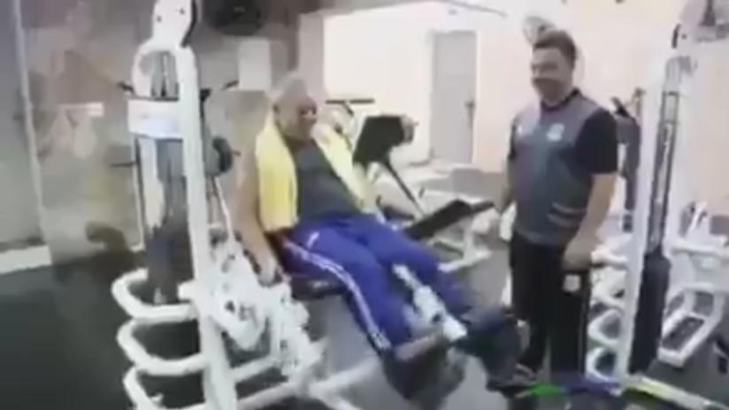 Lula comparte en la Red un video mientras entrenaba a lo Rocky Balboa antes de salir de la cárcel