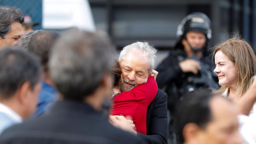 La Red estalla con la etiqueta #LulaLibre tras la liberación del expresidente de Brasil