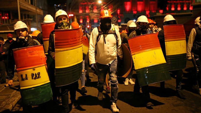 El Gobierno de Bolivia denuncia el intento de un golpe de Estado