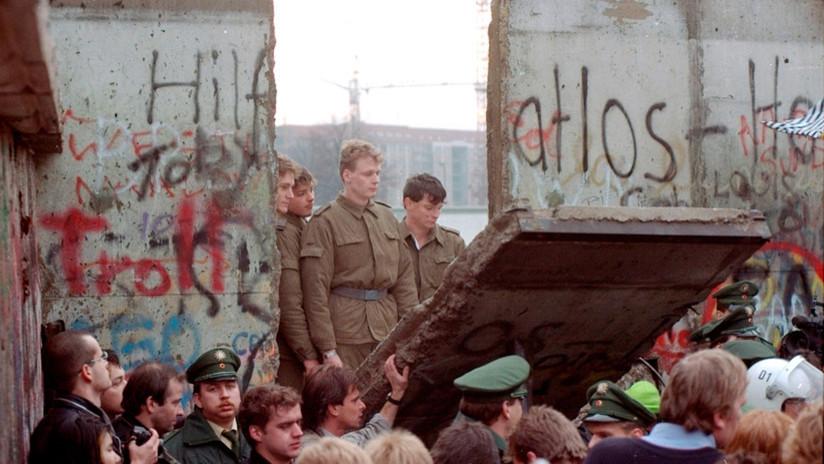 La historia del Muro de Berlín en imágenes, a 30 años de su caída