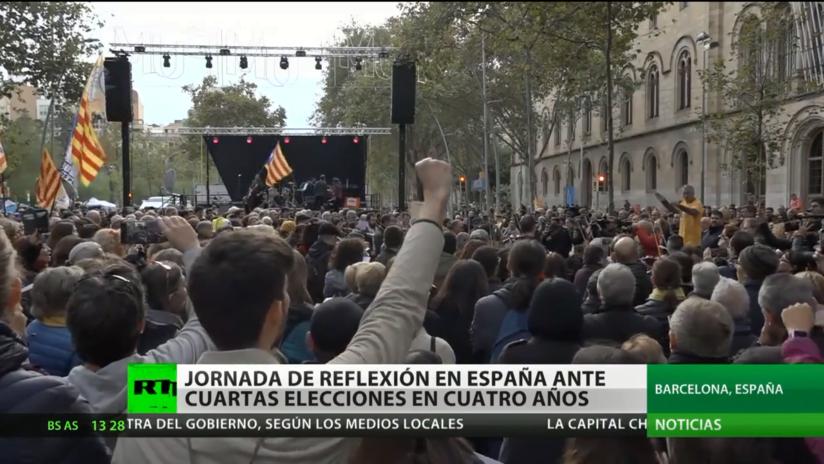 Jornada de reflexión en España antes de las elecciones generales