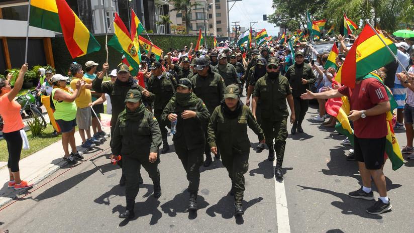"""El Gobierno de Morales releva al comandante policial en Santa Cruz """"por el bien de todos"""""""