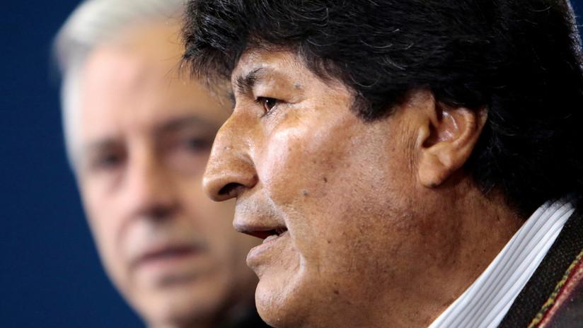 """Evo Morales denuncia que """"grupos irregulares"""" participan en los actos violentos del """"plan de golpe fascista"""""""