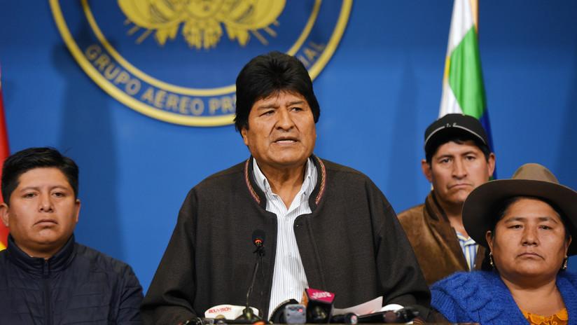 """Evo Morales: """"La decisión de llamar a nuevas elecciones fue para buscar la paz en Bolivia"""""""