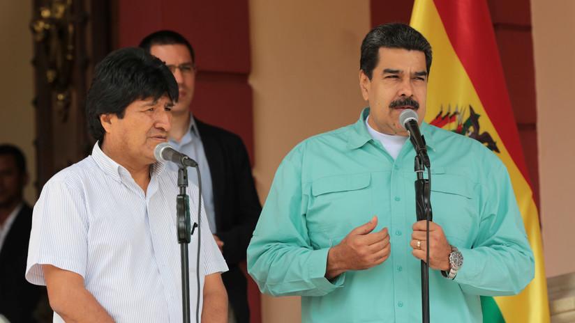"""Maduro: """"Condenamos categóricamente el golpe de Estado consumado contra Evo Morales"""""""