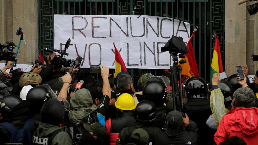 """Eva Golinger: """"En Bolivia han echado la voluntad del pueblo a un lado para perpetrar un golpe de Estado fascista"""""""