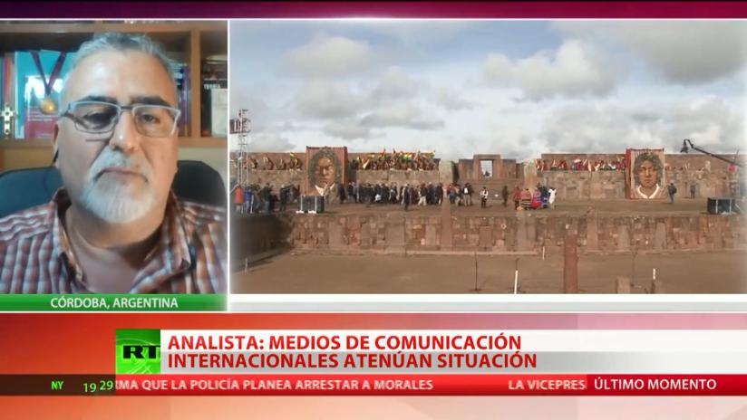 "Experto: ""En Bolivia se ha producido un golpe de Estado tradicional"""