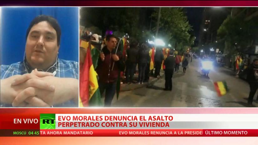 """Abogado: """"Bolivia vive un momento de zozobra"""""""
