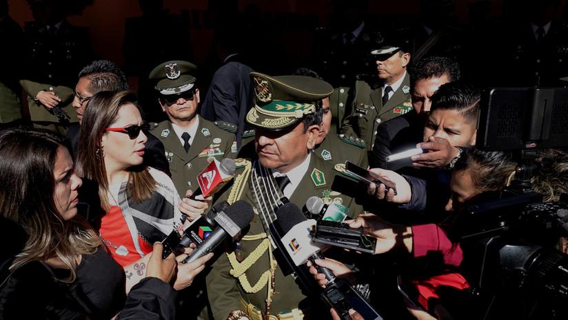 El comandante general de la Policía de Bolivia niega que haya una orden de detención contra Evo Morales