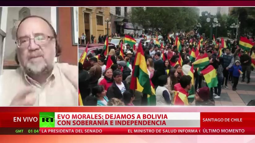 """Experto: """"Hay una clarísima intervención de EE.UU. en el golpe de Estado en Bolivia"""""""