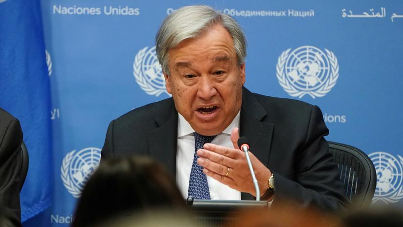 """La ONU pide """"abstenerse de la violencia"""" y """"lograr una solución pacífica"""" en Bolivia"""