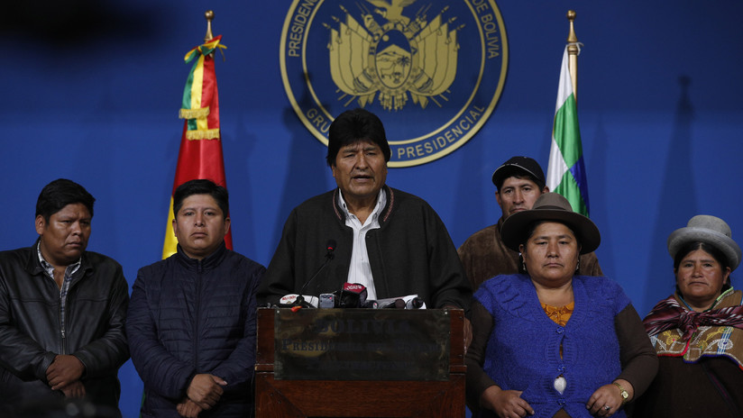 """El líder laborista Jeremy Corbyn denuncia el """"golpe contra el pueblo boliviano"""" que obligó a Morales a dejar el cargo"""