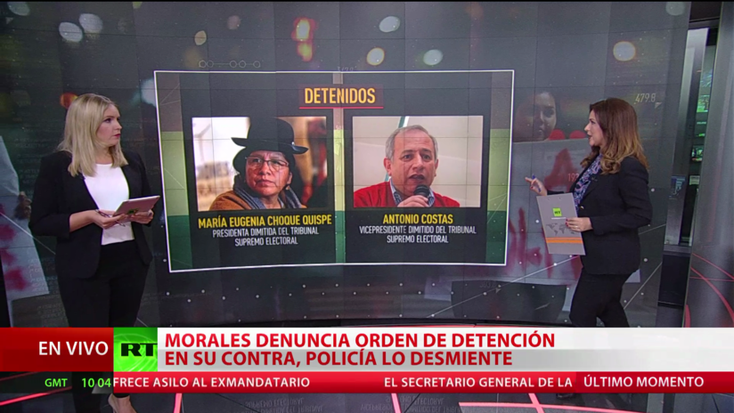 Crece la incertidumbre en Bolivia, sumida en una grave crisis política tras la renuncia de Evo Morales