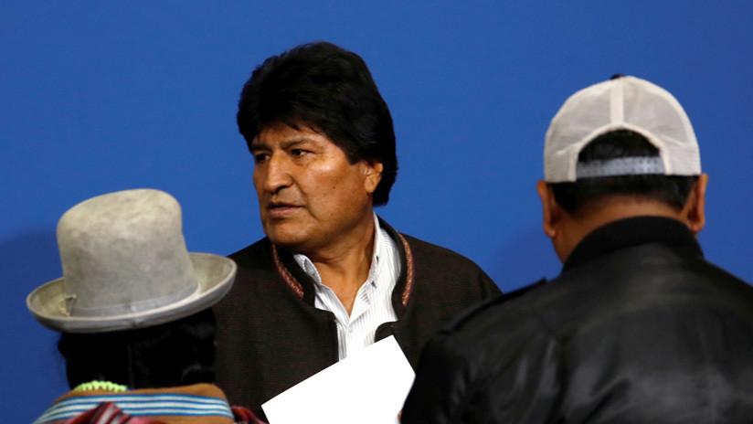 España critica el papel del Ejército y la Policía en la renuncia de Evo Morales