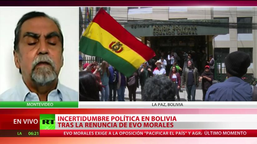 """Experto sobre la situación en Bolivia: """"Podemos hablar de otro Plan Cóndor que hay en América"""""""