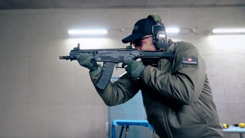 El consorcio Kaláshnikov desarrolla fusiles automáticos compactos para tanquistas y pilotos