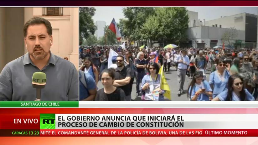 Chile: El Gobierno anuncia un proceso de cambio de Constitución