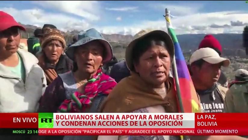 Cómo se desarrolla la situación en Bolivia tras la dimisión de Evo