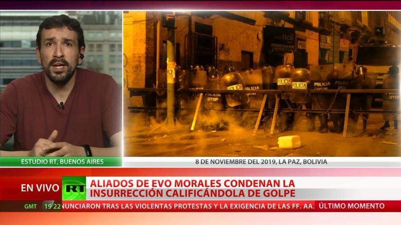 """Experto: La crisis en Bolivia fue un """"golpe de Estado orquestado por sectores opositores a Evo Morales"""""""