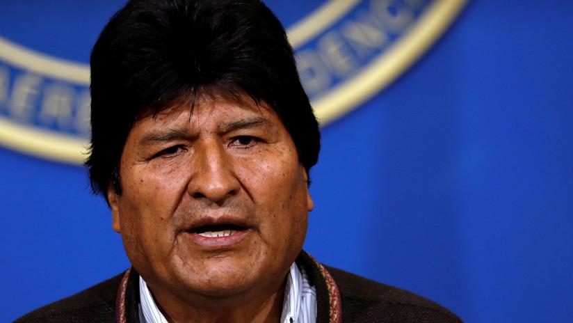 """Evo Morales pide a todos los bolivianos """"cuidar la paz y no caer en la violencia"""""""