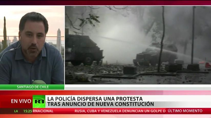 Chilenos desconfían de la reforma constitucional propuesta por el Gobierno