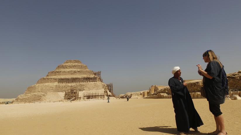 ¿Un león? Arqueólogos encuentran un felino momificado en Egipto