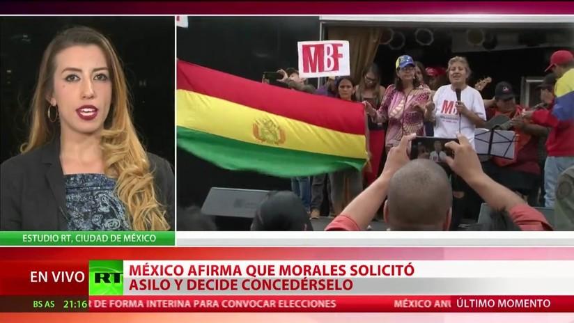México afirma que Evo Morales solicitó asilo y se lo concede