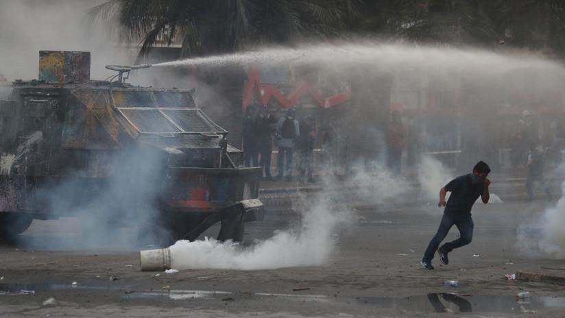 La Policía dispersa una nueva jornada de protestas en Santiago de Chile