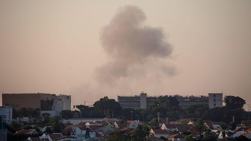 Lanzan 200 proyectiles contra territorio de Israel desde la Franja de Gaza (VIDEO)