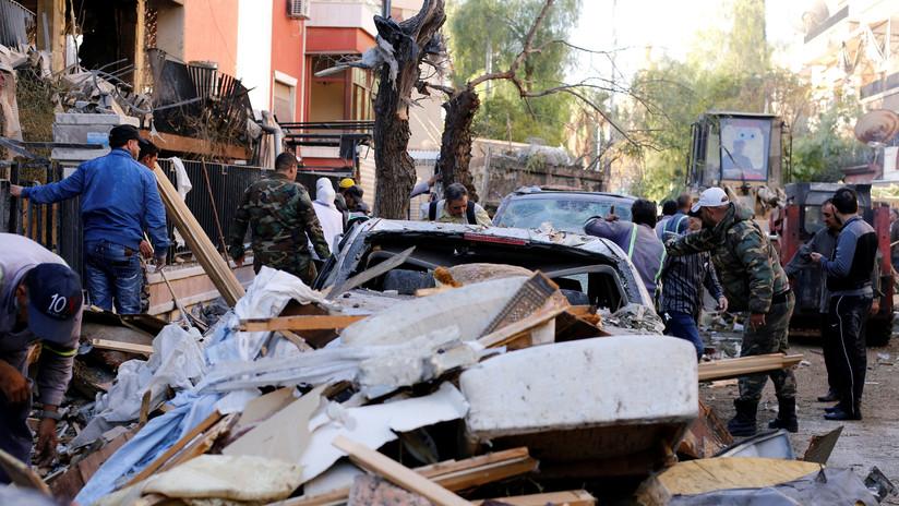Ataque aéreo israelí contra edificio residencial en Damasco mata al hijo de un comandante de la Yihad Islámica Palestina