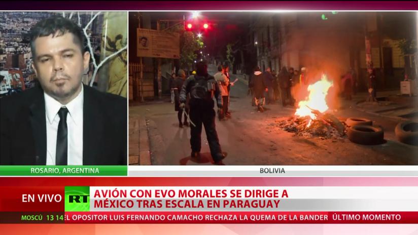"""Experto acerca de la situación en Bolivia: """"Quien está detrás de este golpe de Estado es la Casa Blanca"""""""