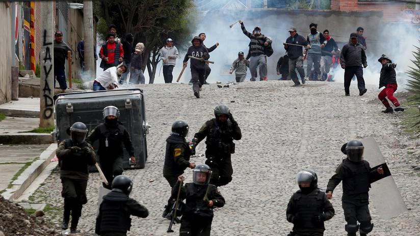 Miles de indígenas marchan hacia La Paz para denunciar el golpe de Estado contra Evo Morales