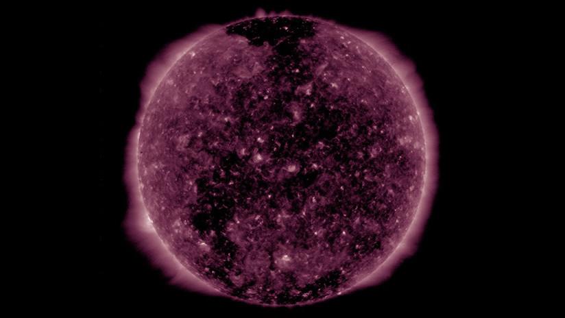 Espectaculares imágenes de la NASA muestran a Mercurio desfilando ante el disco solar